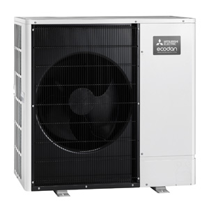 Mitsubishi air source heat pump