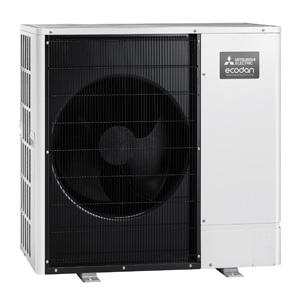Mitsubishi air source heat pump