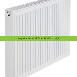 Single Radiator ( K1 Type11) 300mm High