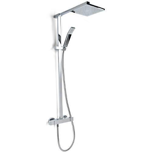 square shower valve